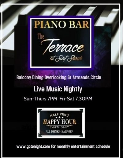 Terrace at Surf Shack Piano Bar