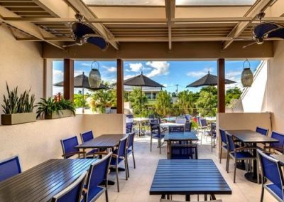 Terrace at Surf Shack Sarasota